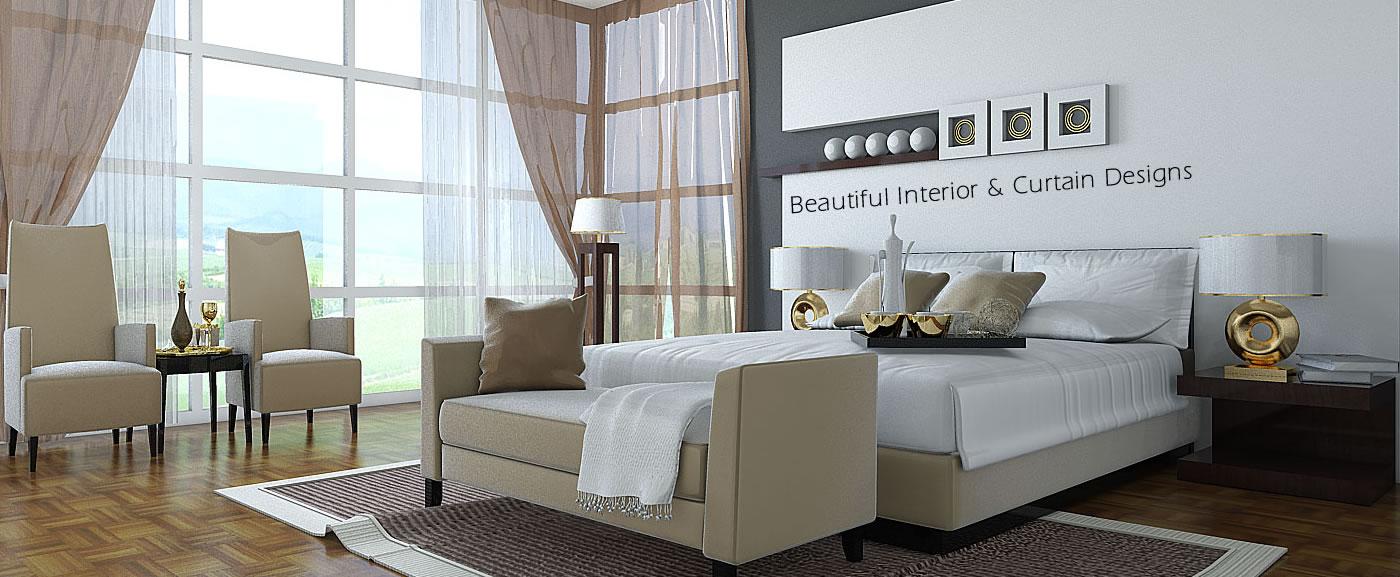 Beautiful & Elegant Curtain & Interior Designs
