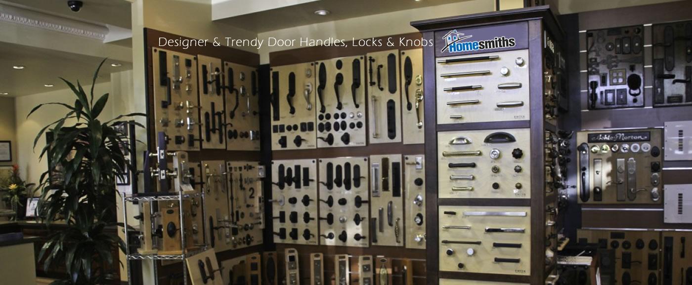 Designer & Trendy Door Handles, Locks & Knobs