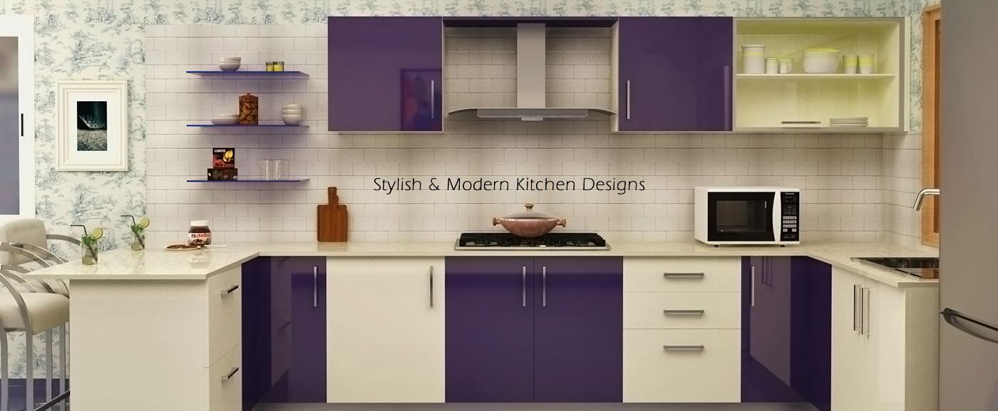Customizable Modular Kitchen Designs