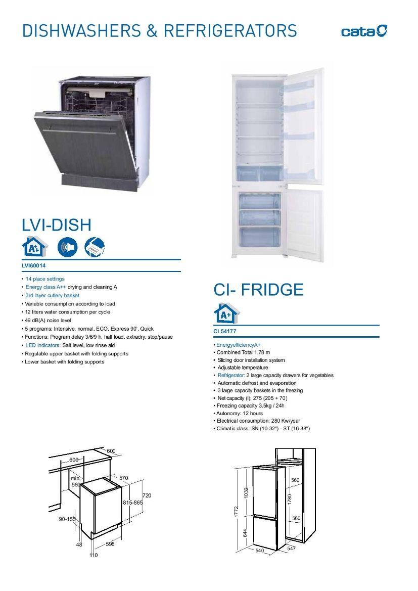 Dishwashers and Refridgerator